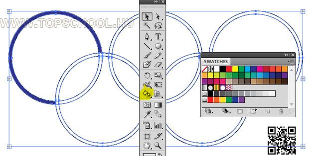 Illustrator olimpia tutroial és tanfolyam