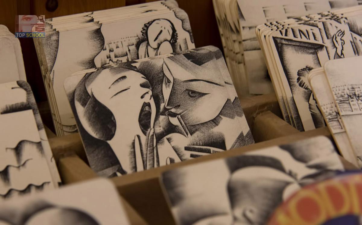 Molnár-C. Pál mûtermében jártunk