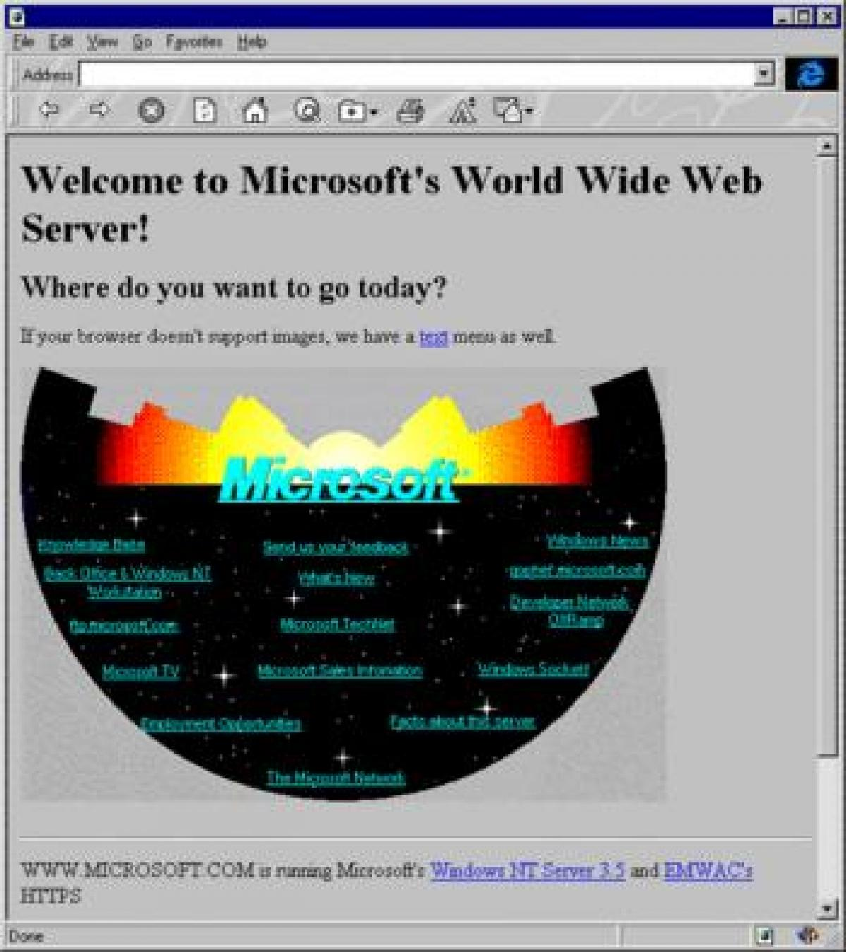 Microsoft a Weben...