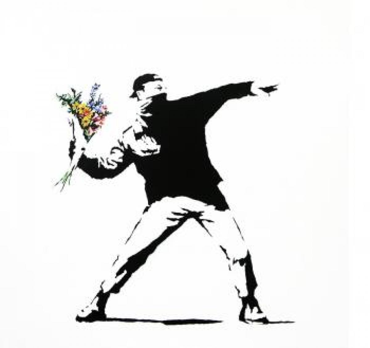 A világ leghíresebb graffiti mûvésze: Banksy