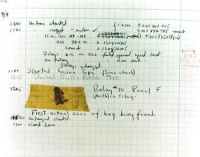 Számítógép bogár (Computer bug) története
