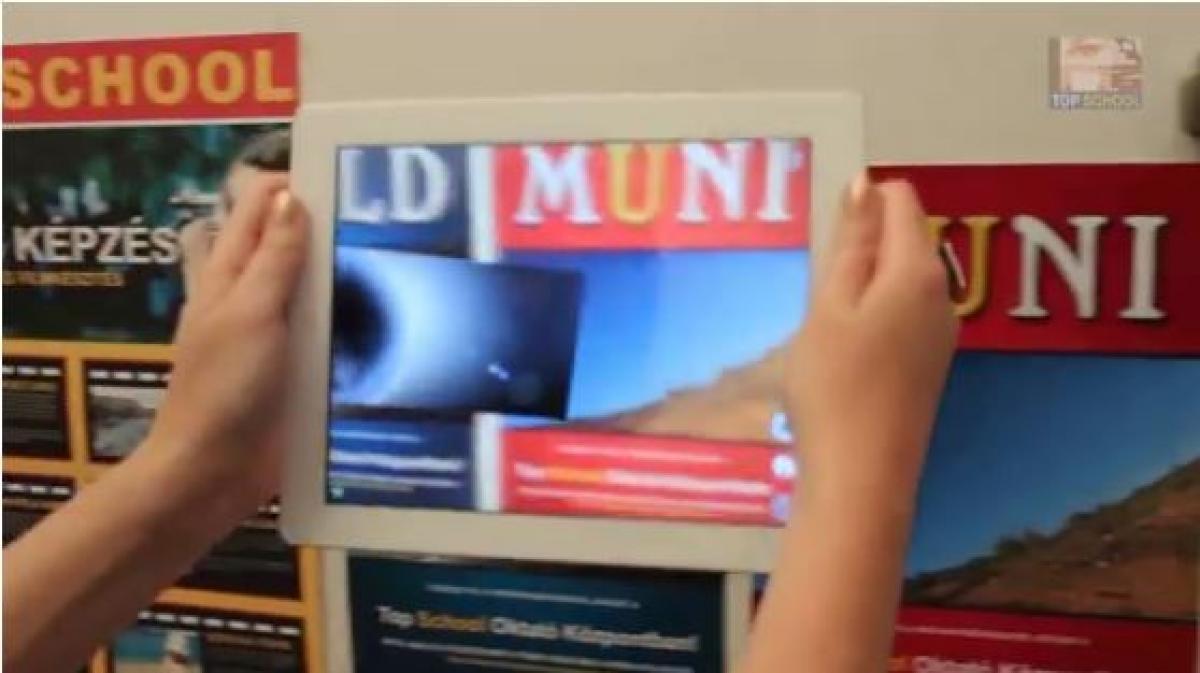 A kiterjesztett valóság és azok lehetõségei az oktatásban, reklámban