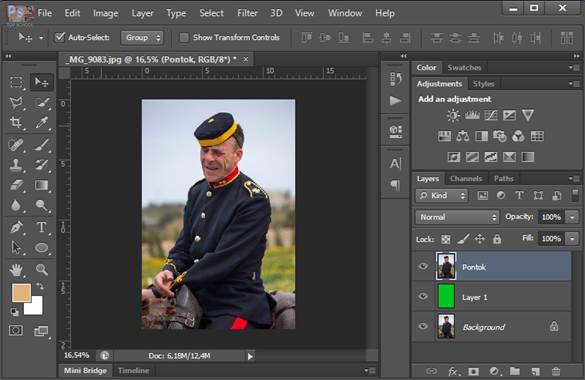 Photoshop tanfolyam