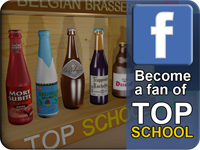 Become a fan of Top School on facebook