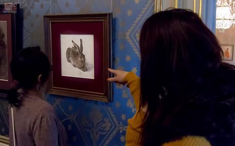 Dürer grafika a grafikus tanfolyamon