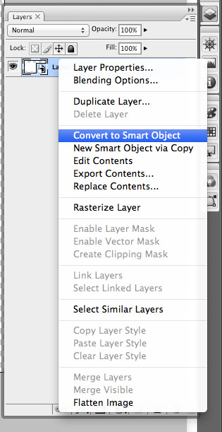 Photoshop Smarrt Object