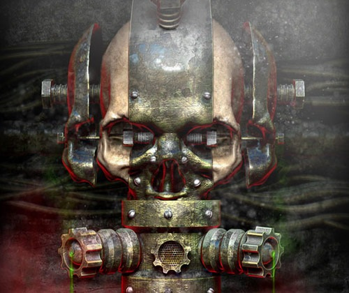 Le�r�s: rustymetalicskull 45 Fresh Must See Photoshop Tutorials from 2012