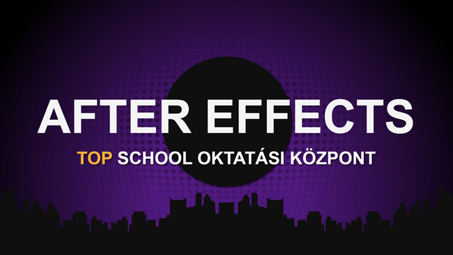 After Effects képzés