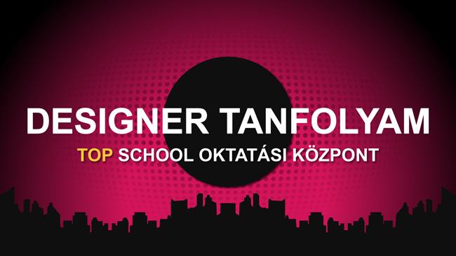 Designer tanfolyam