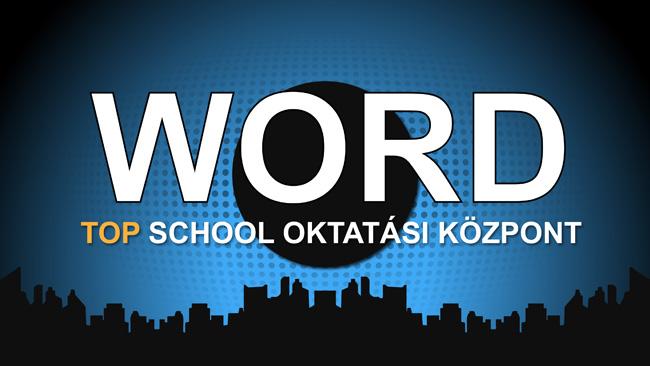 Word képzés